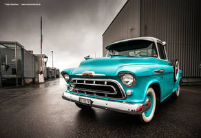 1957 Chevrolet 3200 by AmericanMuscle