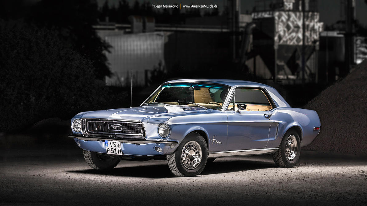 68 mustang coupe vi by americanmuscle on deviantart. Black Bedroom Furniture Sets. Home Design Ideas
