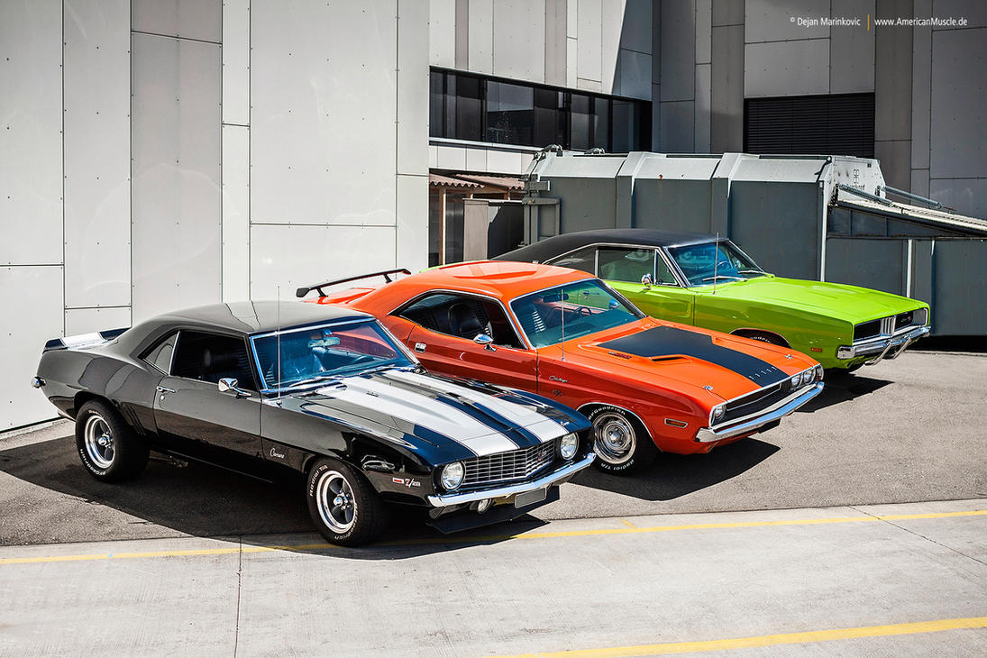 Muscle Cars By AmericanMuscle On DeviantArt