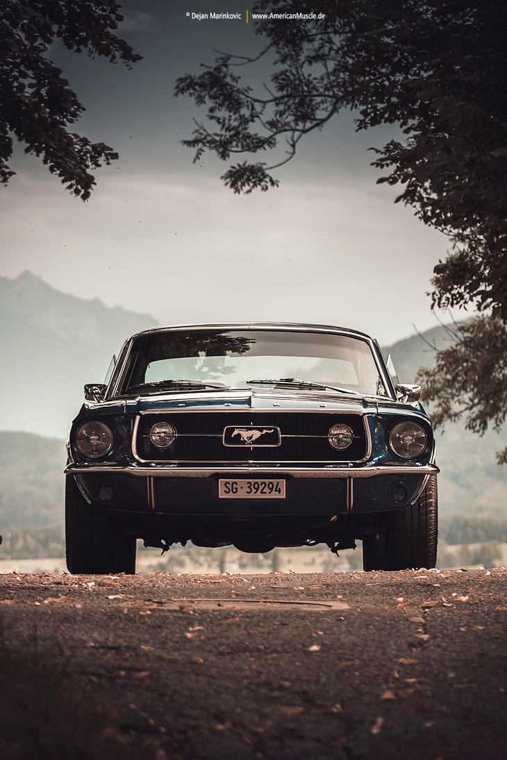 Blue Mustang Coupe V by AmericanMuscle on DeviantArt