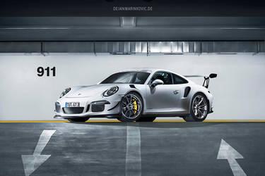 Porsche 911 GT3 RS - Shot 4