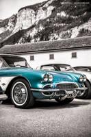 Turquoise Corvette C1