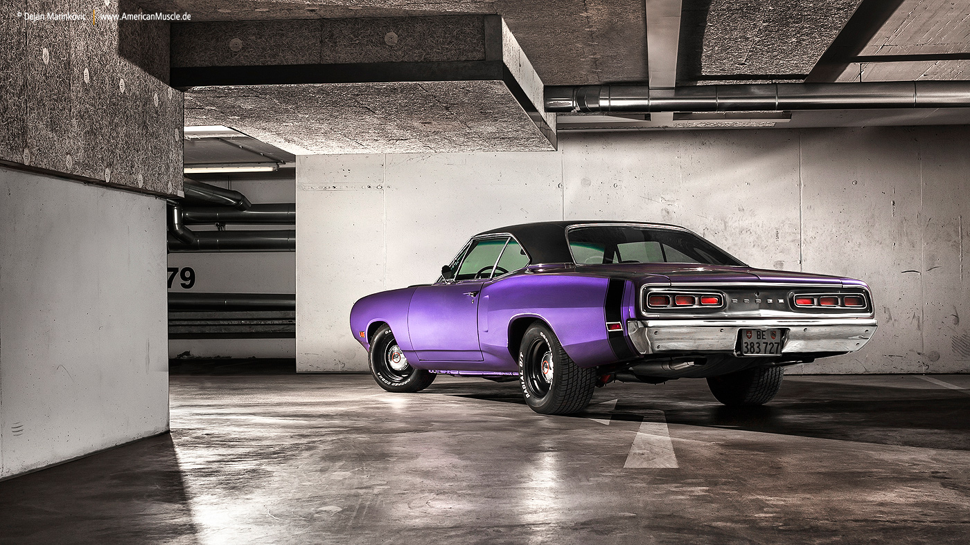 Plum Crazy 1970 Dodge Coronet  - Shot 3 by AmericanMuscle