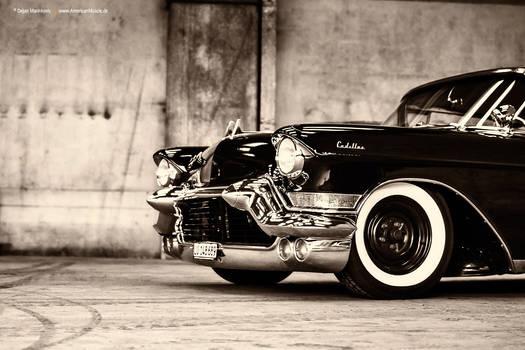 lowered 1957 Cadillac Series 62 - Shot 1