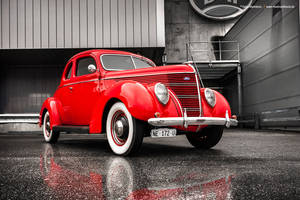 1938 Ford 5-Window Coupe by AmericanMuscle
