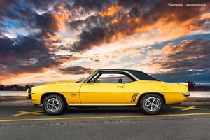 1969 Chevrolet Camaro SS Side