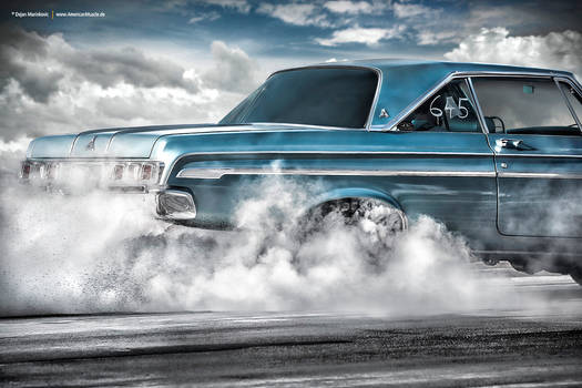 1964 Dodge Polara Burnout