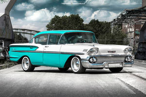 1958 Chevrolet Bel Air - Shot 3 by AmericanMuscle