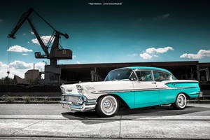 1958 Chevrolet Bel Air - Shot 5 by AmericanMuscle