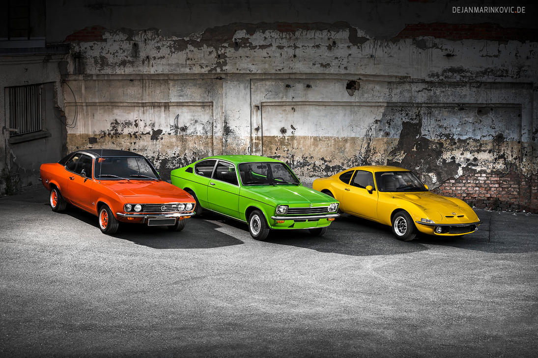 Opel Classic Cars by AmericanMuscle