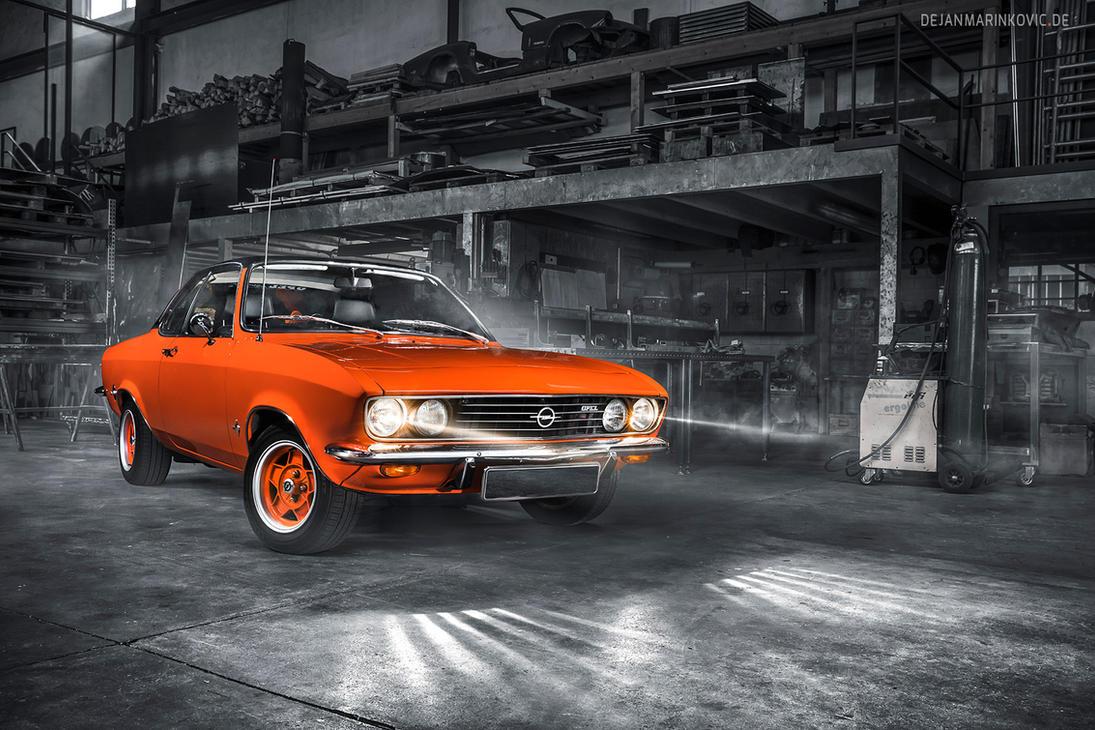 Orange Opel Manta A by AmericanMuscle