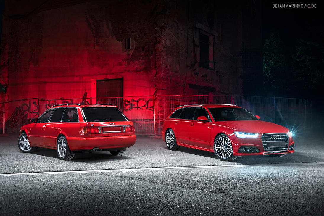 Audi S4 Avant Generations - Shot 2 by AmericanMuscle