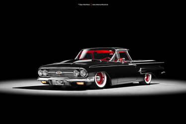 1960 Chevrolet El Camino by AmericanMuscle
