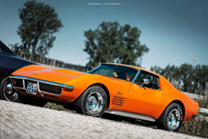 1970 Coronet and 1971 C3 Corvette - Shot 8