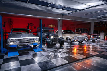 Classic Car Garage by AmericanMuscle