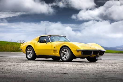 1969 Corvette C3 Daytona Yellow