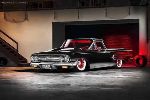 bagged 1960 Chevrolet El Camino