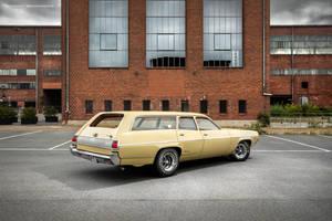 1972 Plymouth Satellite Custom Wagon - Shot 6