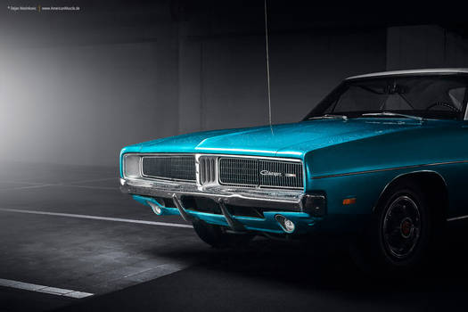 turquoise 1969 Charger
