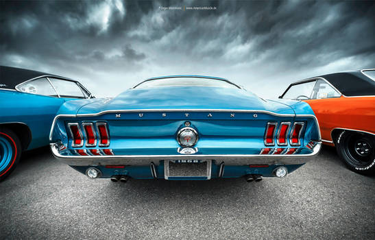 1968 Ford Mustang Fastback GT