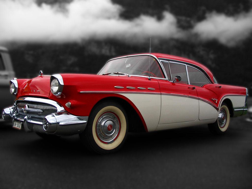 Beautiful Red Old Buick By AmericanMuscle ...
