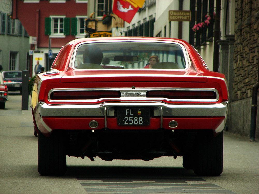 red mopar muscle by AmericanMuscle