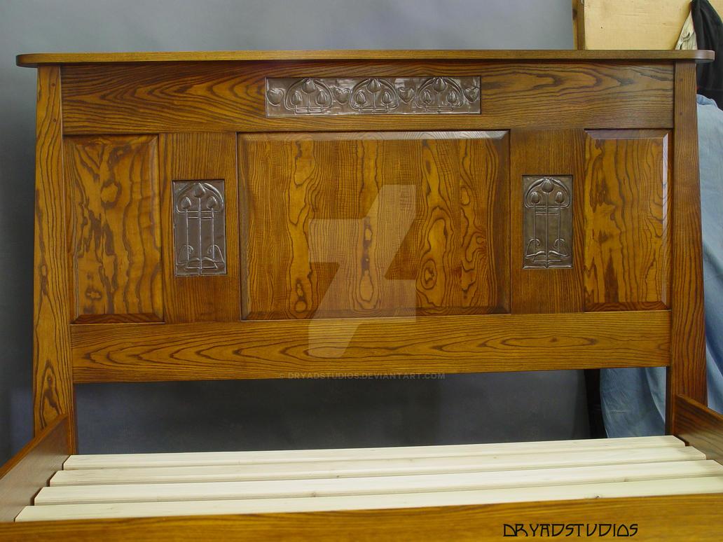 Glasgow ash bed headboard by dryadstudios on deviantart for Beds glasgow