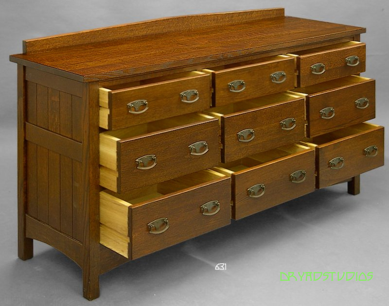 Long dresser, drawers out by DryadStudios on DeviantArt