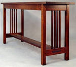 Spindle Sofa table