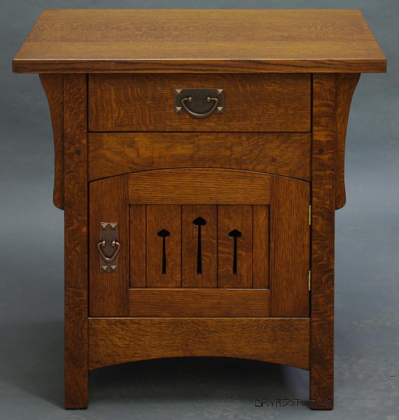 Arch-door nightstand by DryadStudios
