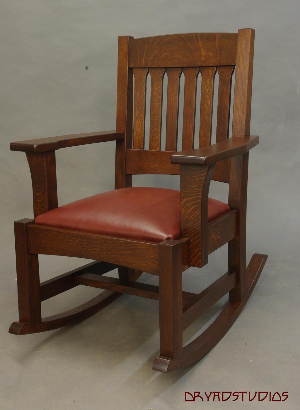Mission Rocking Chair by DryadStudios on DeviantArt