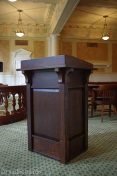 Supreme Court Podium AR Capitol