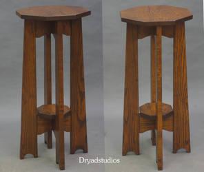 772 Board Leg Ash Planst Stand sans corbels by DryadStudios