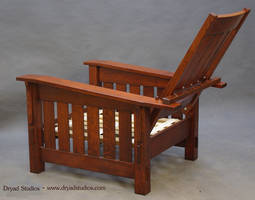 Arts and  Crafts Morris chair recliner