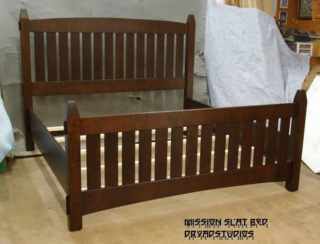 Mission Slat Bed #716