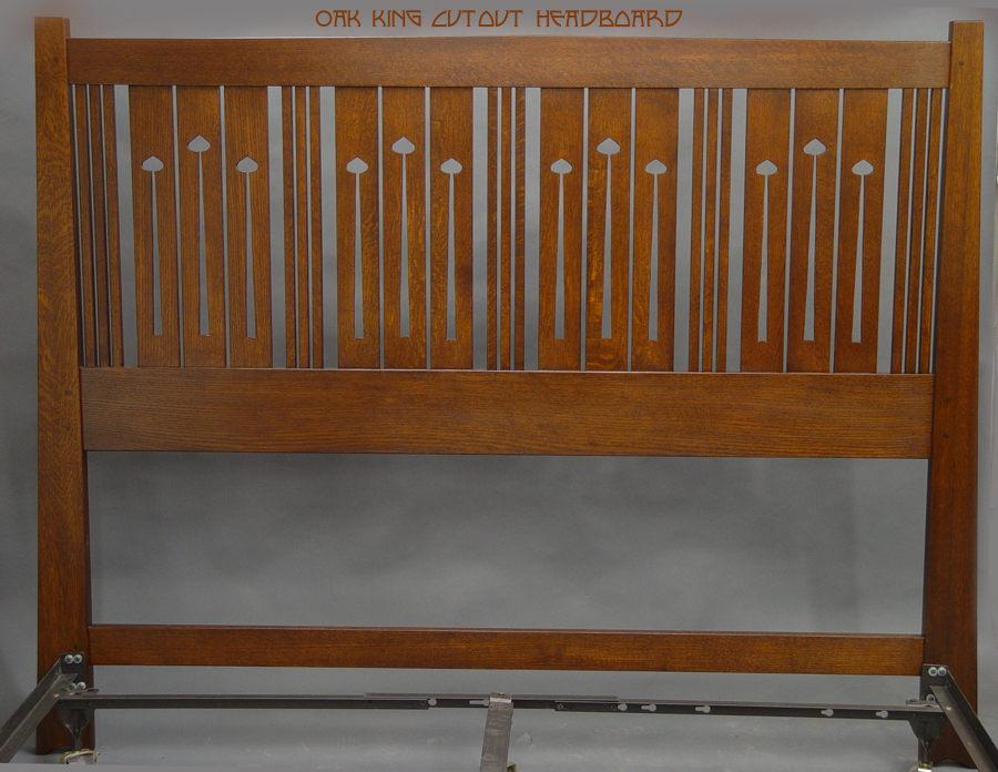Oak King headboard by DryadStudios ...