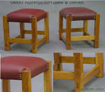 Cherry footstools-ottomans by DryadStudios