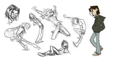 Little Roy Sketches by bloochikin
