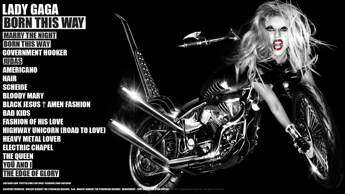 Born This Way Promo Wallpaper by SethVennVampire