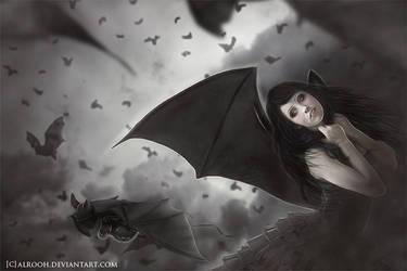 Princess of bats by ebtihalien