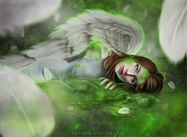 Falling Angel by ebtihalien