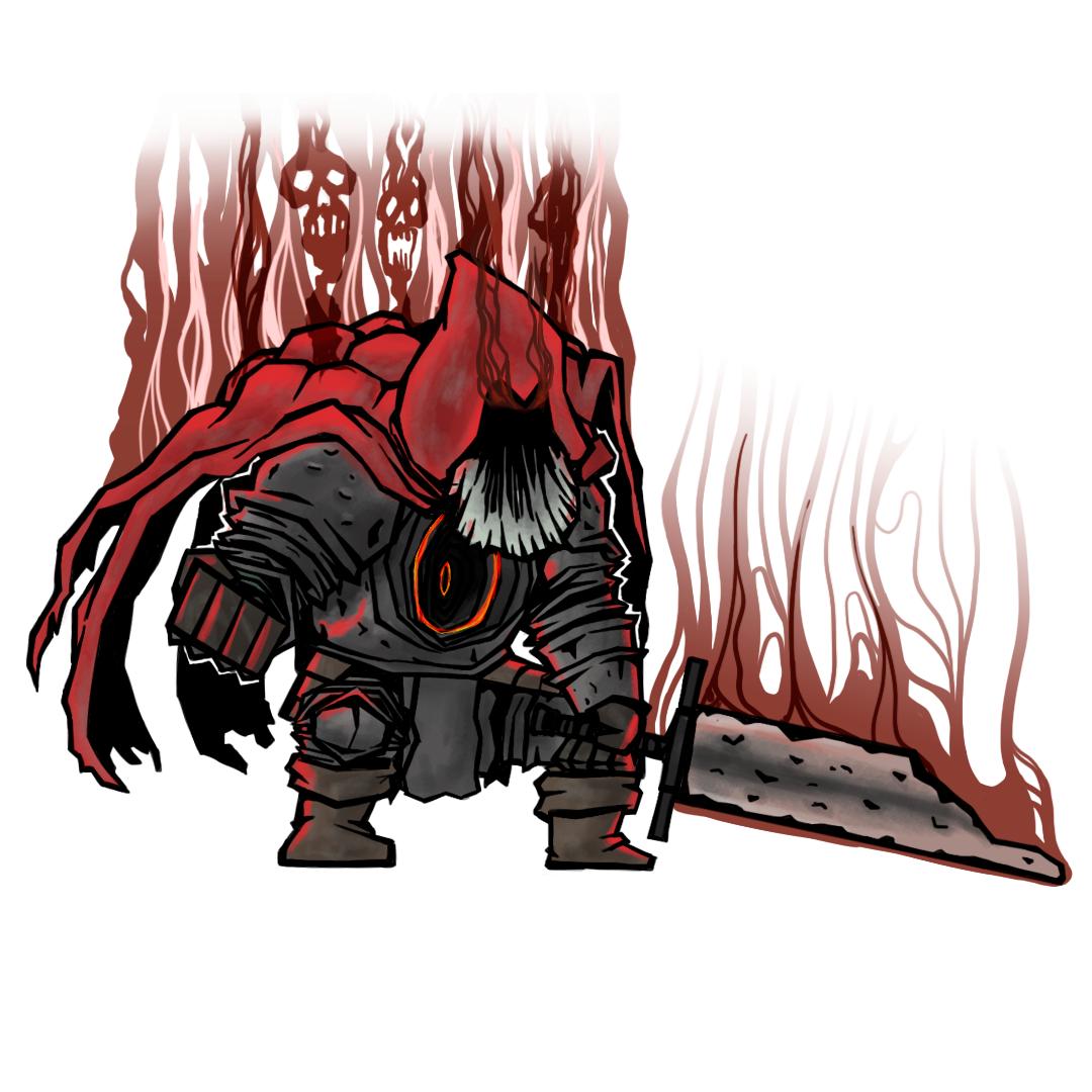 Dark Souls Slave Knight Gael By Plainamation On Deviantart