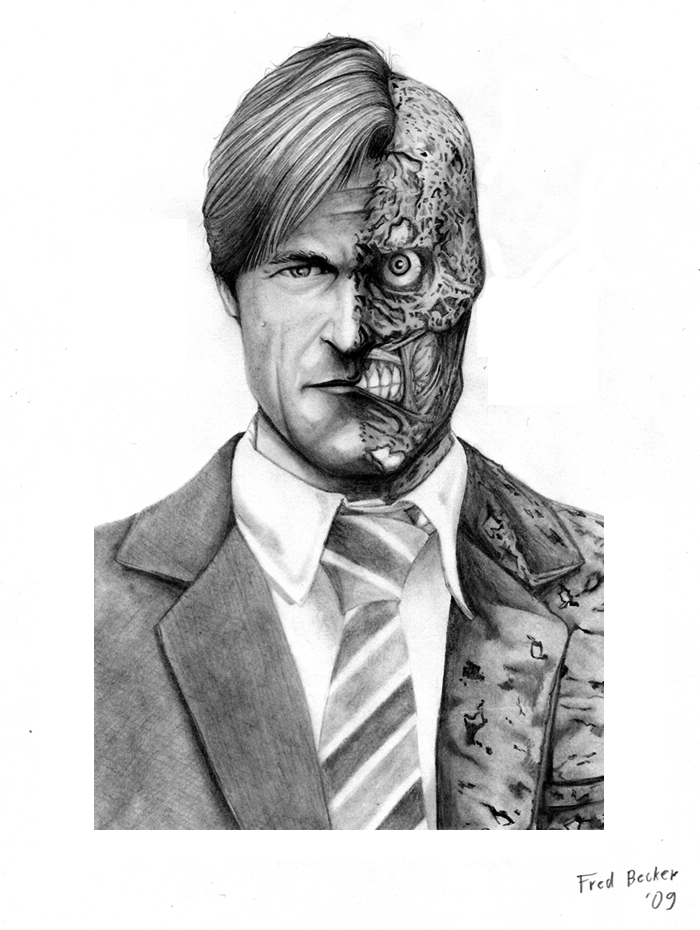 Harvey Dent New Earth: Harvey 'Two-Face' Dent By Fredbecker On DeviantArt