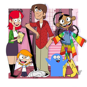 Fosters Home for Imaginary Friends 12 years later