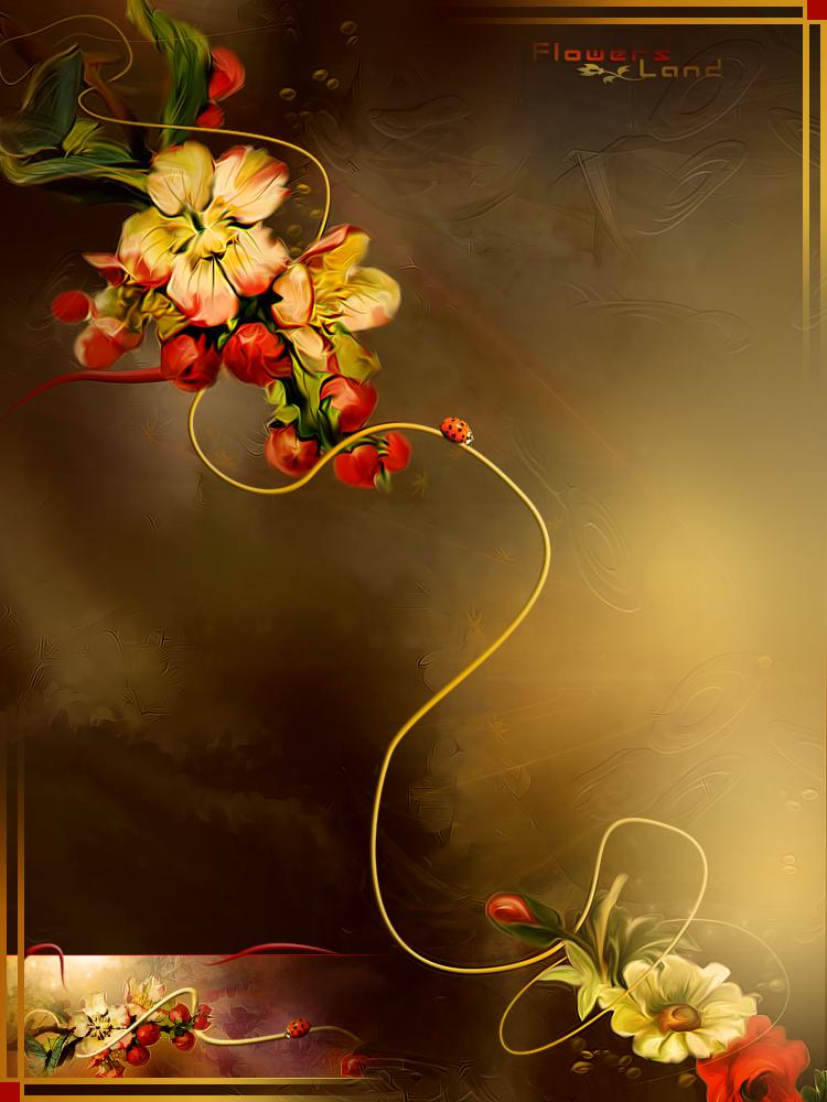 Sretan rođendan sonata! Flowers_Land_by_Dafne_1337art