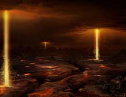 rage of the gods by Dafne-1337art