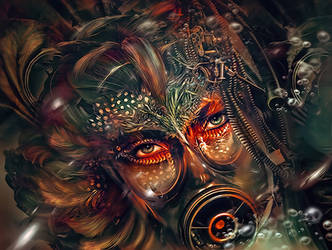 Me and myslef - Cosmosys XI by Dafne-1337art