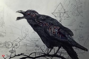 Raven - IN 14th Exp by Dafne-1337art