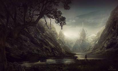 Pielgrzym by Dafne-1337art