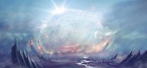 Eterium - beginning of the end by Dafne-1337art